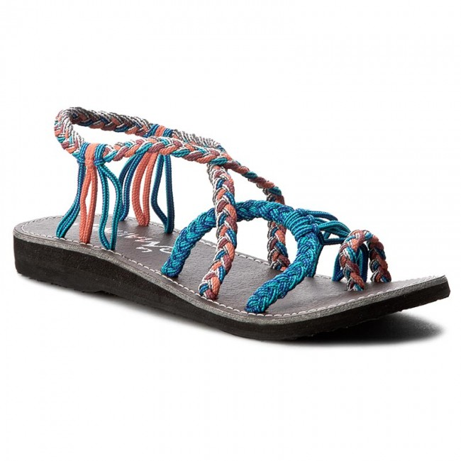 and MARINE Calypso Mules flops Flip Slides LA TurqueySalmon FcK1Jl