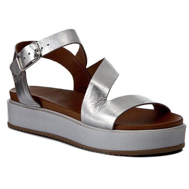 Sandalen INUOVO - 8977 Pewter/Gold s6GC3f