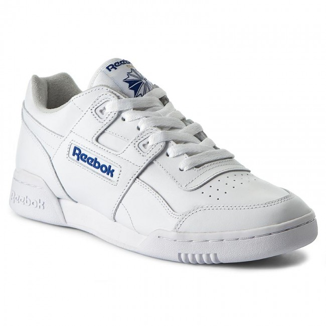 Shoes Reebok - Workout Plus 2759 Wht Royal - Sneakers - Low shoes ... 7d9ee7899380