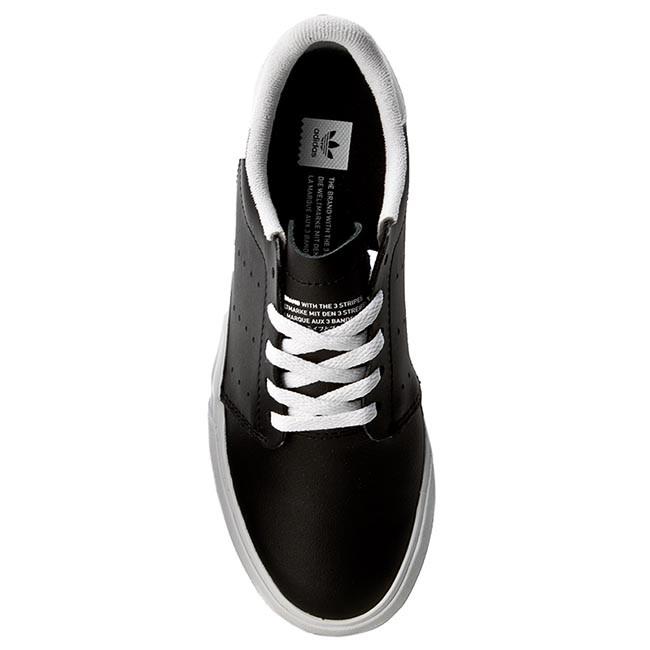 Shoes adidas - Seeley Court BB8588 Cblack Ftwwht Ftwwht - Sneakers - Low  shoes - Women s shoes - www.efootwear.eu 7d7d09bb1