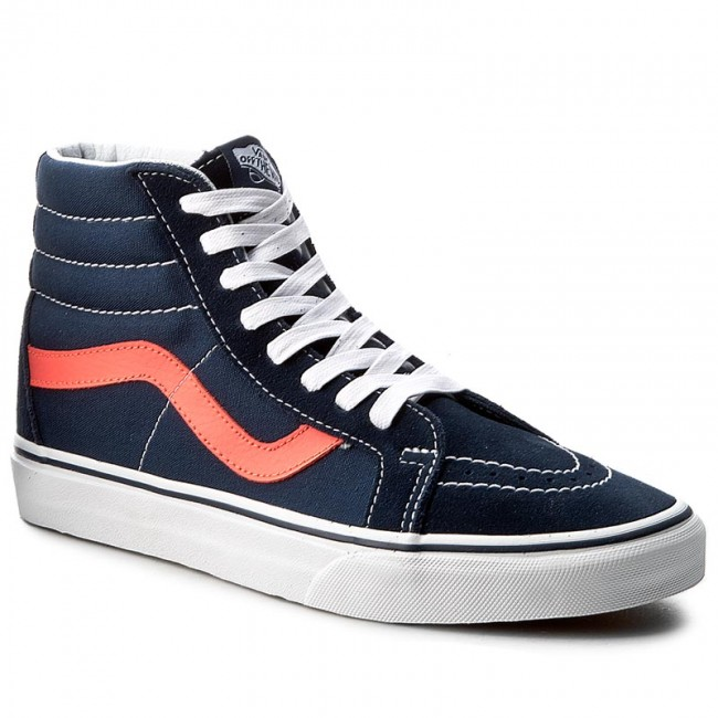 8d4fd3367af9bb Sneakers VANS - Sk8-Hi Reissue VN0A2XSBMVK (Neon Leather) Dress Blue ...