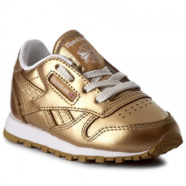 4ee57fad17ca7e Shoes Reebok - Classic Leather Metallic BS7458 Brass White - Laced ...