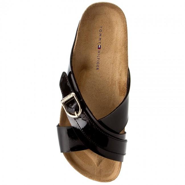 Slides TOMMY HILFIGER - De Sm Lena 1D FW0FW01564 Black 990 - Casual mules -  Mules - Mules and sandals - Women s shoes - www.efootwear.eu bf1d62025cf