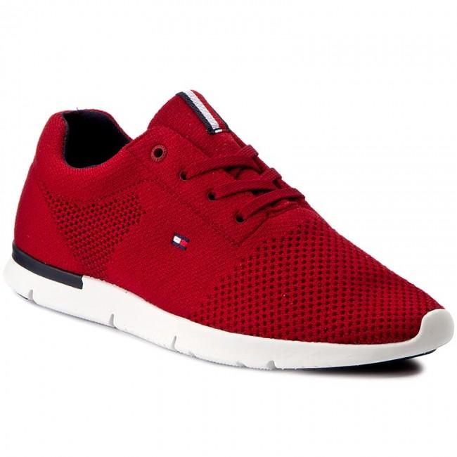1a22e6b67edddd Sneakers TOMMY HILFIGER - Tobias 10D FM0FM00556 Tango Red 611
