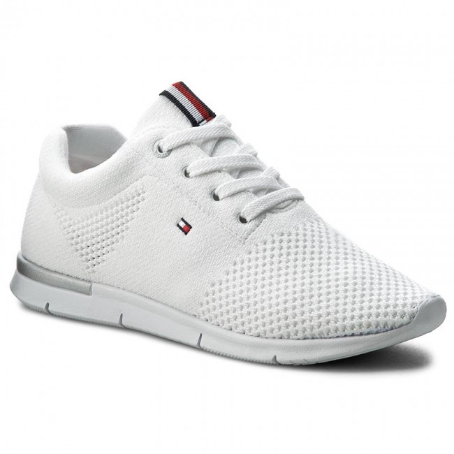 10ab30d2e0ffc Sneakers TOMMY HILFIGER - Skye 10D FW0FW01048 White 100 - Sneakers ...