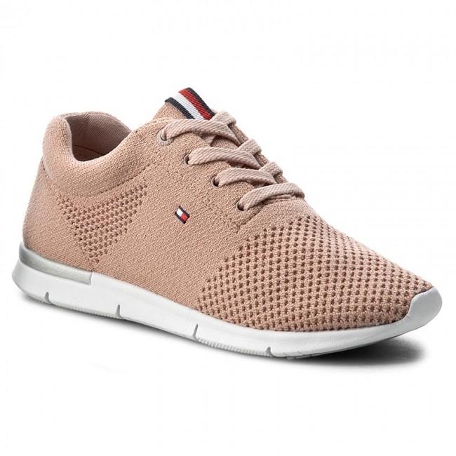 ec7fb1203 Sneakers TOMMY HILFIGER - Skye 10D FW0FW01048 Dusty Rose 502 ...