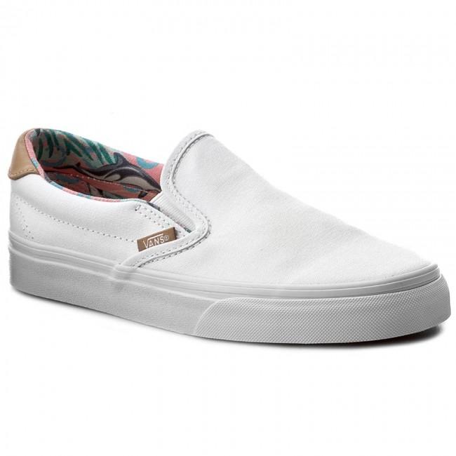 Plimsolls Vans Slip On 59 Vn0a38gumvc Cl Dolphinstrue White