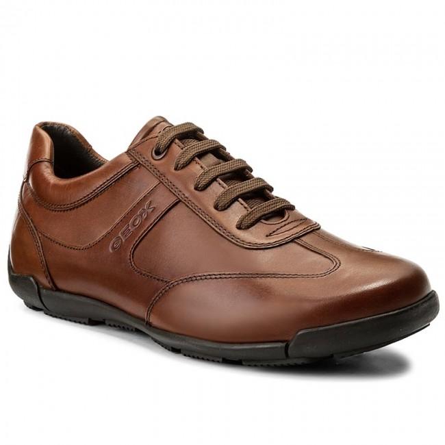 Sneakers GEOX - U Edgware B U743BB 043BC C6001 Cognac