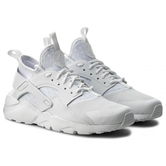 Shoes NIKE - Air Huarache Run Ultra Gs 847569 100 White/White/White - Sneakers - Low shoes - Women's shoes - www.efootwear.eu