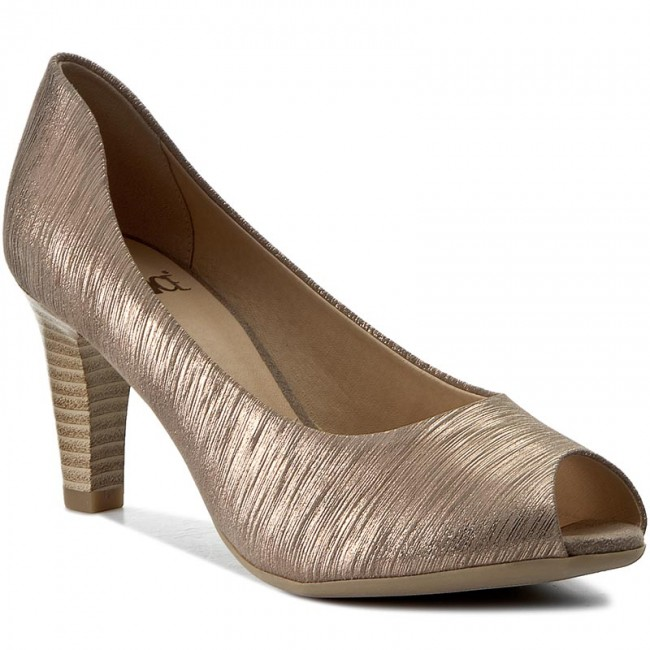 Shoes CAPRICE  92930028 Taupe Multi 344  Heels  Low shoes  Womens shoes       0000199669149