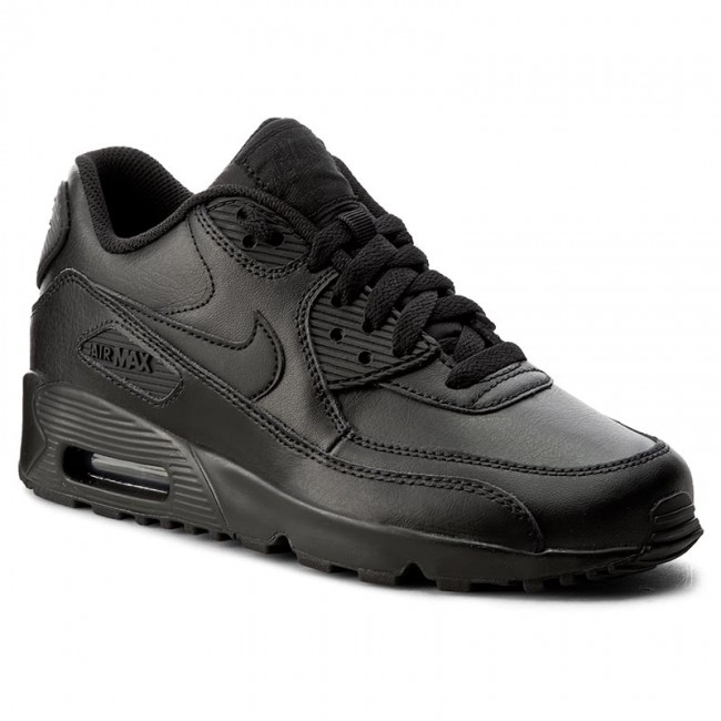 45a1c32861 Shoes NIKE - Air Max 90 Ltr (GS) 833412 001 Black/Black - Sneakers ...