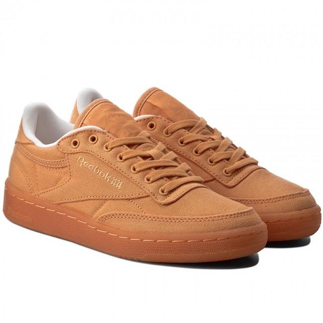 e4b2b72c59b Shoes Reebok - Club C 85 Canvas BD2842 Sunwash Classic White Whi - Sneakers  - Low shoes - Women s shoes - www.efootwear.eu