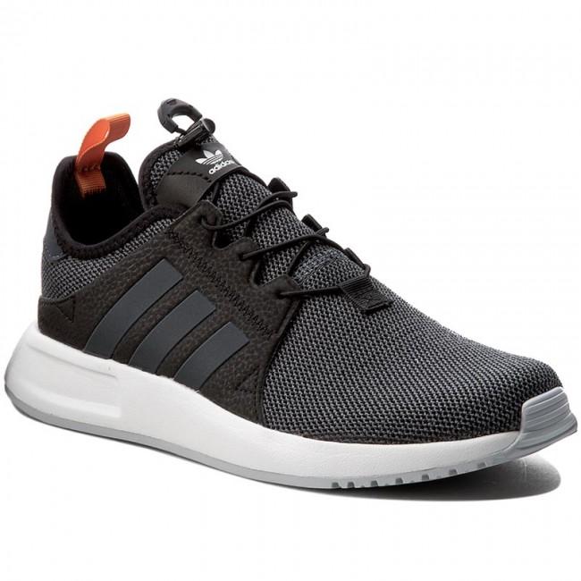 Zapatos adidas x PLR bb1105 cblack / boonix / easora zapatilla bajas