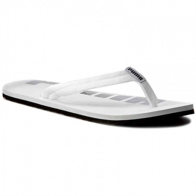 cae75e06dad6 Slides PUMA - Epic Flip V2 360248 08 White Black - Flip-flops ...