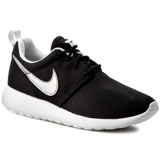 1addd3e08d7797 Shoes NIKE - Roshe One (Gs) 599728 021 Black Metallic Silver White ...