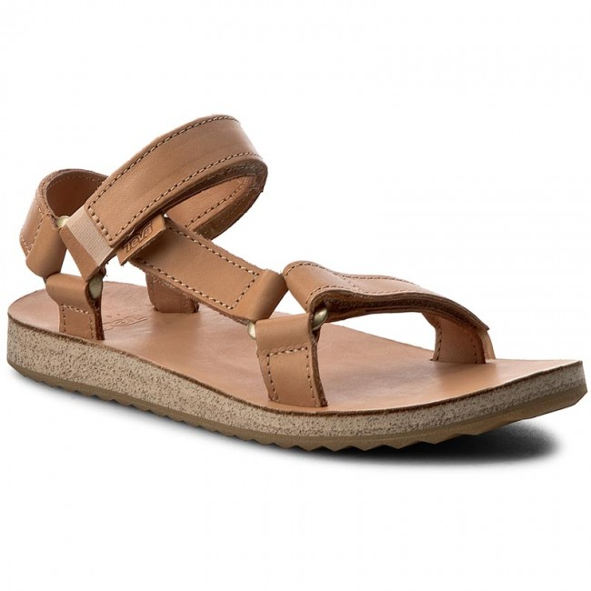 f60be0dffe80 Sandals TEVA - W Original Universal Crafted Leather 1010321 Tan ...