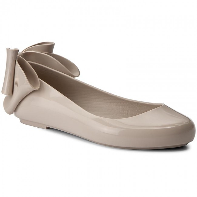 Flats MELISSA  Space Love Bow II Ad 32187 Beige 01319  Ballerina shoes  Low shoes  Womens shoes       0000199689864