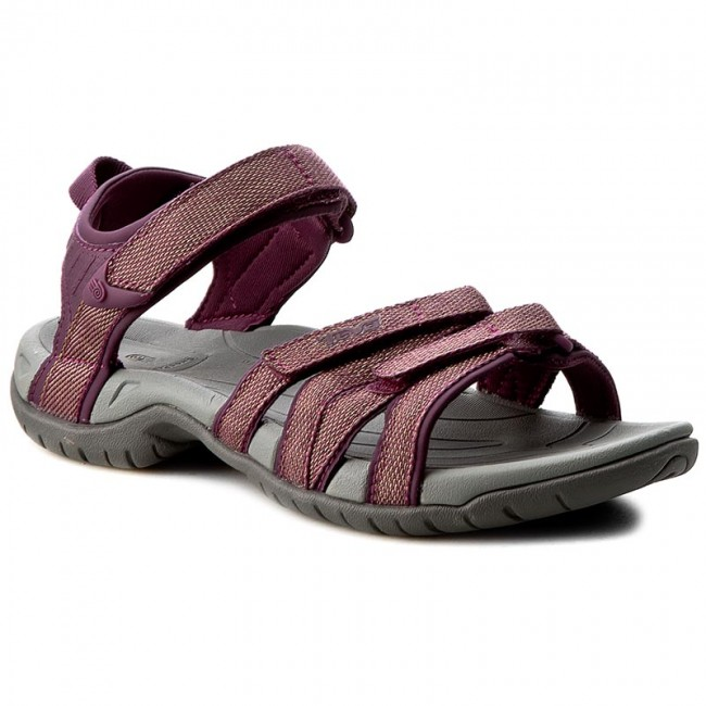 5de4cf864560 Sandals TEVA - W Tirra 4266 Zaca Dark Purple Gold - Casual sandals ...