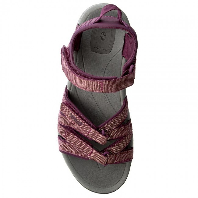 b567f4b554ed Sandals TEVA - W Tirra 4266 Zaca Dark Purple Gold - Casual sandals - Sandals  - Mules and sandals - Women s shoes - www.efootwear.eu