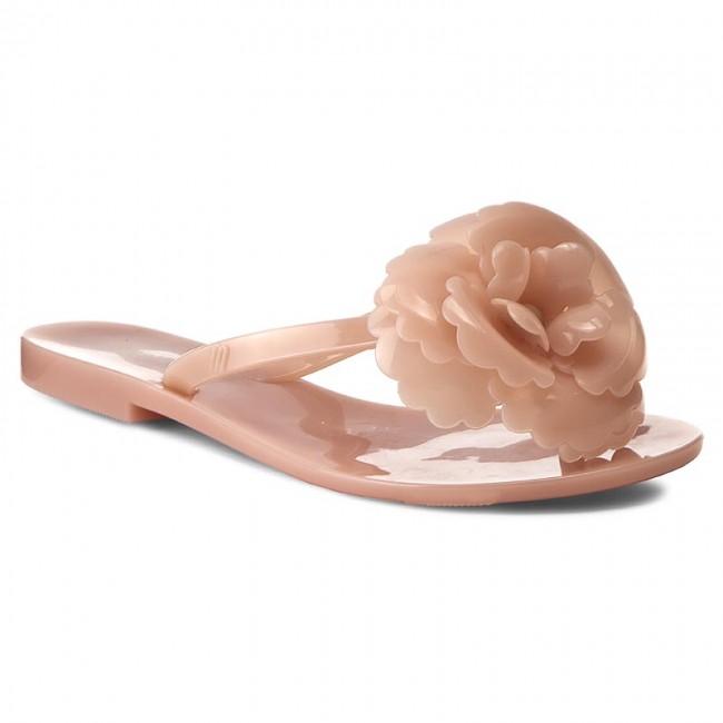 Melissa Harmonic Flower Neon Pink Flip Flops B0079GKOA4