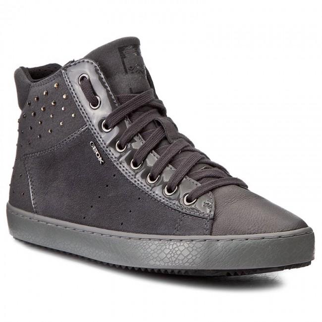 Sneakers GEOX - J Kalispera G. E J744GE 022AU C9002 D Dk Grey JokXYxQ5wQ