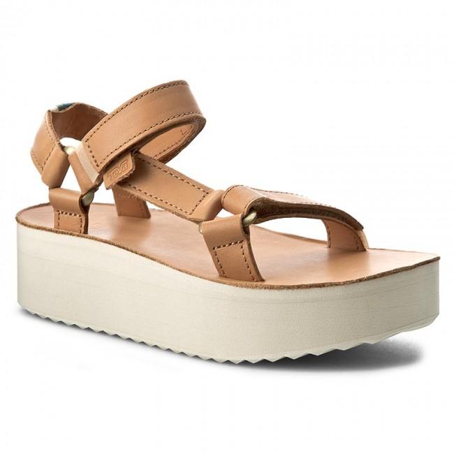 242cd7e2c00 Sandals TEVA - W Flatform Universal Crafted 1013112 Tan - Casual ...