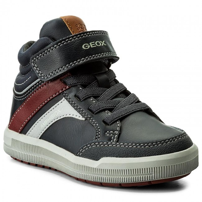 Geox J745SA boys Baskets Navy, EU 34