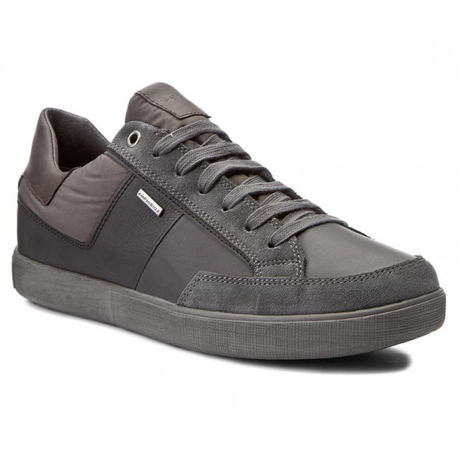 Mens U Taiki B ABX a High Sneaker, Grey Geox