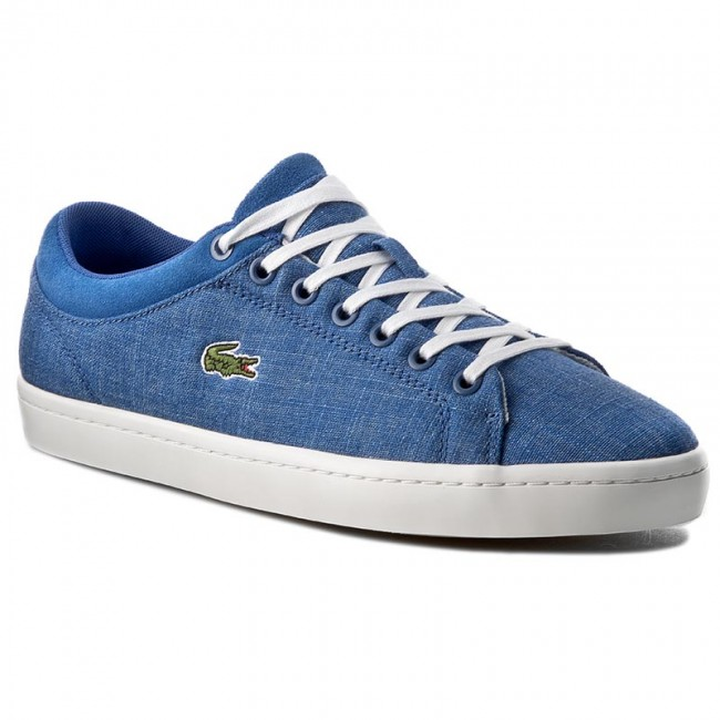 377f297bd315a Sneakers LACOSTE - Straightset Sp 217 1 CAM 7-33CAM1063125 Blu ...