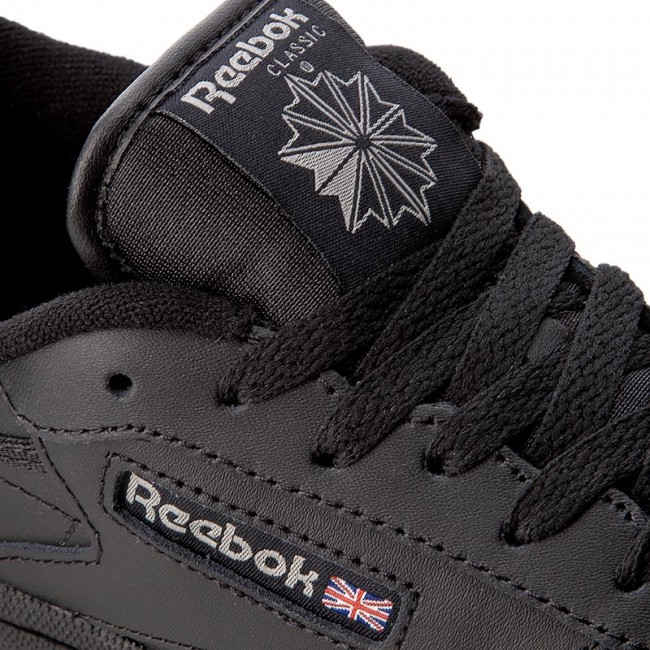 48107084257 Shoes Reebok - Club C BS6165 Black Charcoal - Sneakers - Low shoes ...