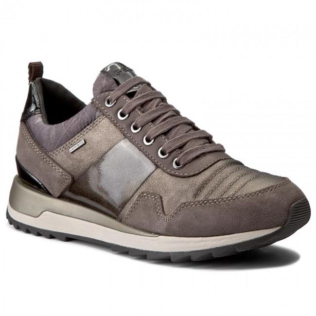 Sneakers GEOX - D Aneko B Abx A D643FA 022BN C6457 Chestnut Coffee ... 51134ce53e34