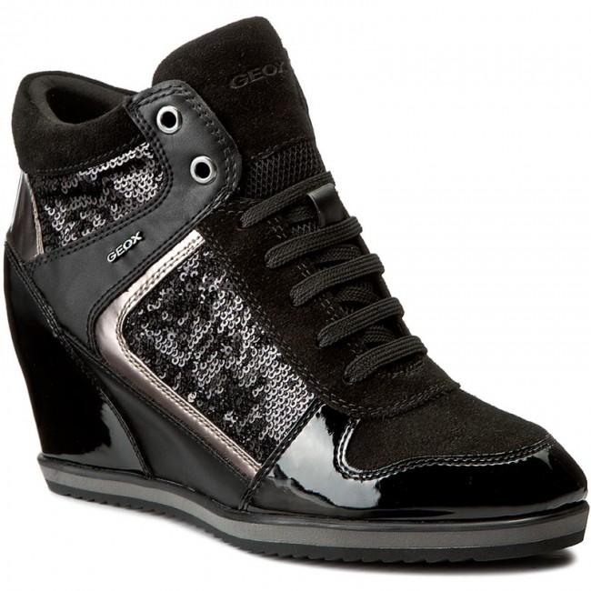 Sneakers GEOX  D Illusion B D7254B 0AT54 C9999 Black
