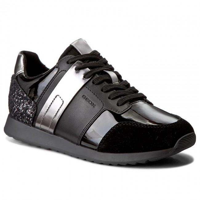 Sneakers GEOX - D Deynna D D746FD 00222 C9999 Black Para La Venta Barata En Línea x8xK8