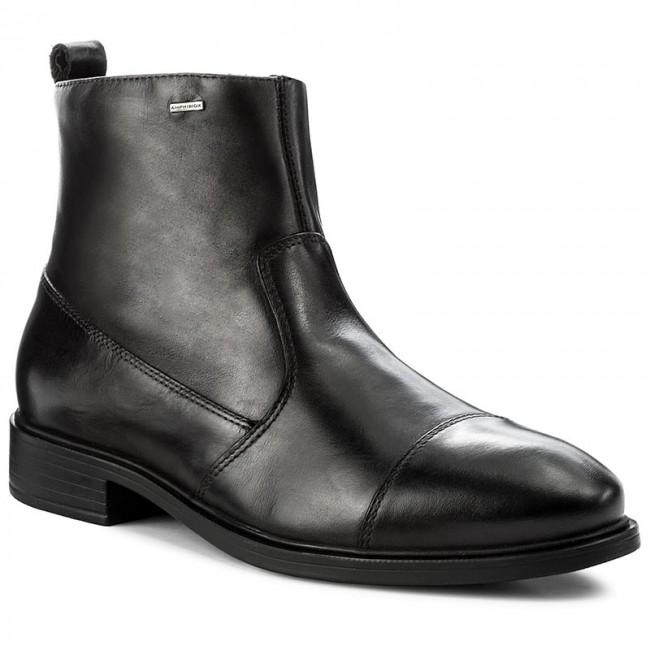 Mens U Loris Np ABX F Classic Boots, Black Geox