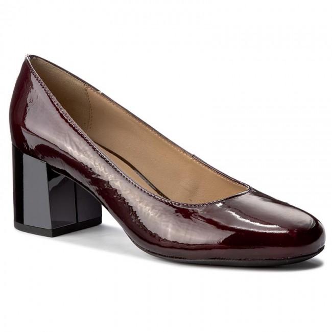 Shoes GEOX - D Audalies M.A D723YA 00067 C7357 Dk Burgundy