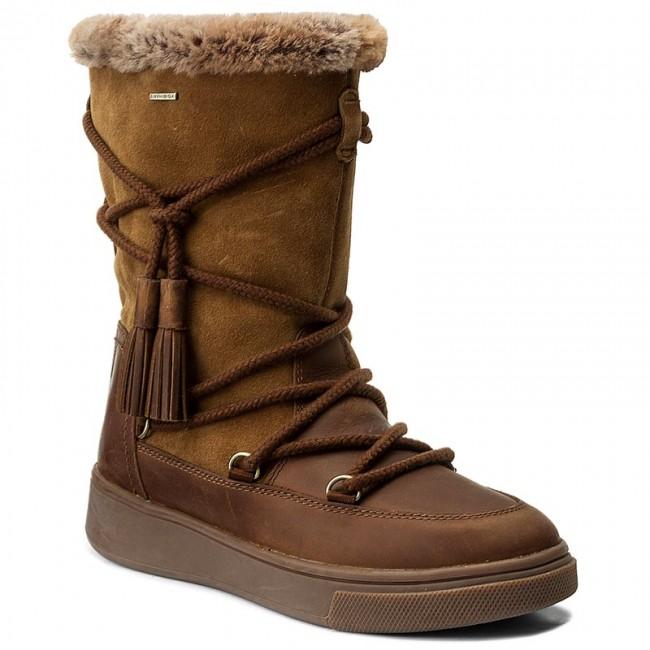 a495c68a8d1 Snow Boots GEOX - D Mayrah B Abx A D743MA 04522 C6NA5 Cognac/Skin ...