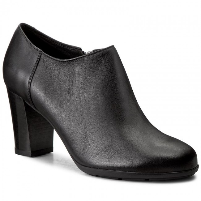 Shoes GEOX  D Anny A A D745FA 08543 C9999 Black  Heels  Low shoes  Womens shoes       0000199707230