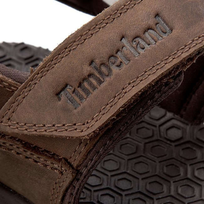 Sandals TIMBERLAND Harbor Pines A18VM Dark Brown