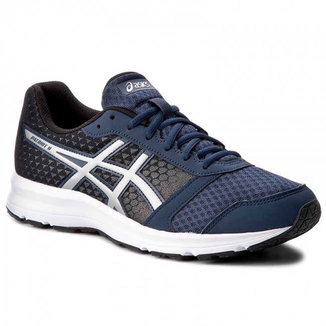 Shoes ASICS - Patriot 8 T619N Insignia Blue/Silver/Black 5093