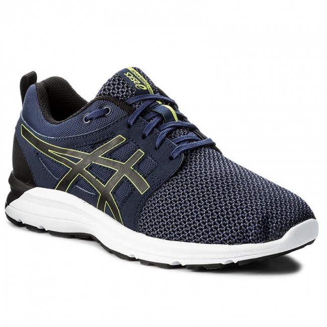 ASICS GEL-PHOENIX 9 - Neutral running shoes - deep ocean/flash yellow