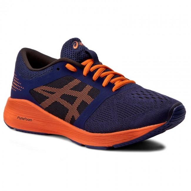 Shoes ASICS - RoadHawk Ff Gs C743N Indigo Blue Hot Orange Black 4930 ... 1908c7acb5
