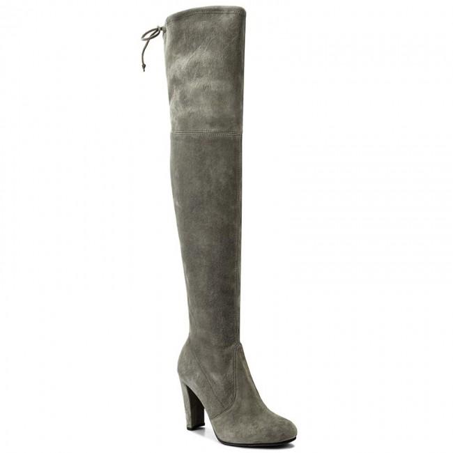 ed0b27d986d Over-Knee Boots STUART WEITZMAN - Highland Cement Suede - Musketeer ...