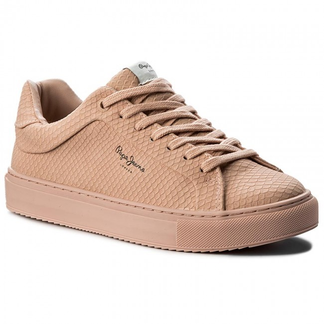 Pls30603 Pepe Sneakers Pink 304 Jeans Champagne Adams Samy rdoWCexB