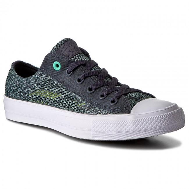 Ctas Ox Converse 155733c Sneakers Glowwhite Ii Sharkskingreen dBhQtCsrx