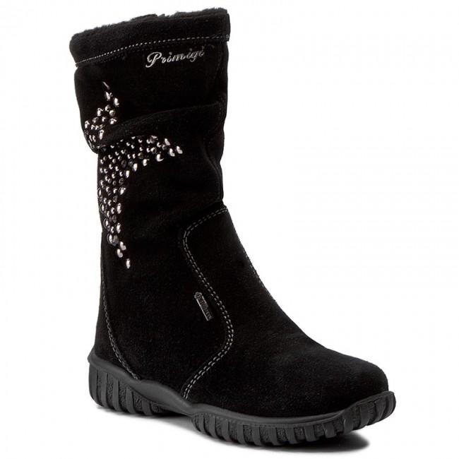 50f72f4ed35d71 Knee High Boots PRIMIGI - Avril GORE-TEX 6599077 M Nero - Jackboots ...