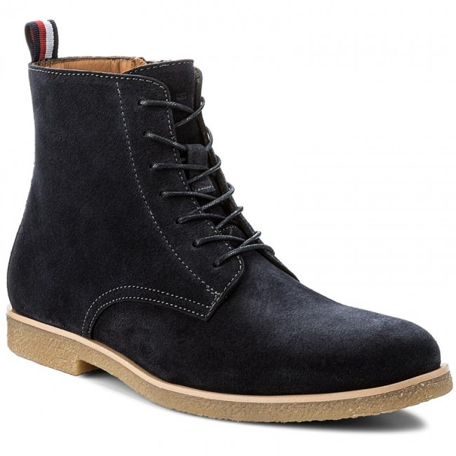689d000340a410 Knee High Boots TOMMY HILFIGER - William 3B FM0FM01018 Midnight 403 ...