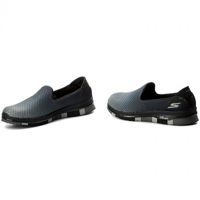 Shoes SKECHERS - Go Flex 14014 BKGY Black Gray - Casual - Low shoes ... c1bd16c002