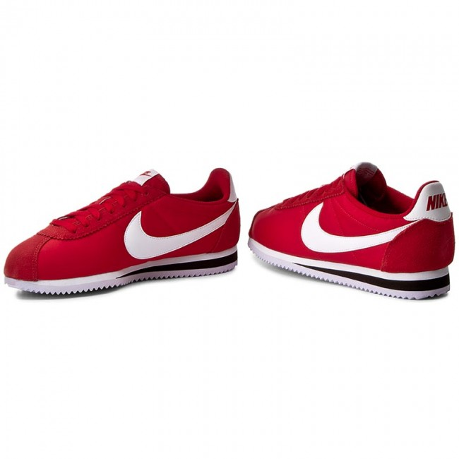 sports shoes 6dcb1 0cd9f Shoes NIKE - Classic Cortez Nylon 807472 600 University Red White Black