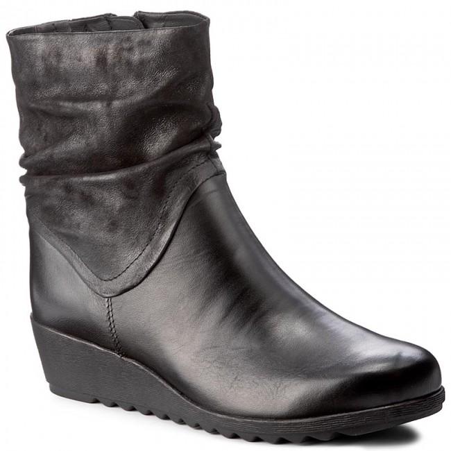 Boots Caprice 026 comb 9 Nap Black High 25451 29 rWrxvRwqS