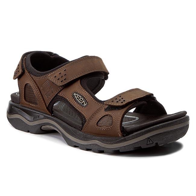 0e89e790b359 Sandals KEEN - Rialto 3 Point 1016643 Dark Earth Black - Sandals ...